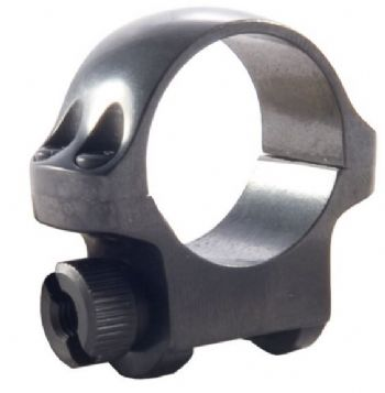 "Ruger 3B Mount Ring - 1"" Blued Alloy Low Height for upto 32mm scope lens - 90269"